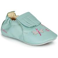 Παπούτσια Κορίτσι Παντόφλες Catimini RHIZINE Vte / Green / Water / Dpf / Souple