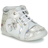 Παπούτσια Κορίτσι Μπότες GBB SONIA Άσπρο / Silver