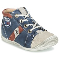 Παπούτσια Αγόρι Χαμηλά Sneakers GBB SILVIO Marine / Brown
