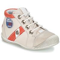 Παπούτσια Αγόρι Μπότες GBB SILVIO Beige / Red