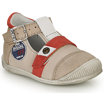 Παπούτσια Αγόρι Σανδάλια / Πέδιλα GBB STANISLAS Vtc / Μπεζ-κόκκινο / Dpf / Raiza
