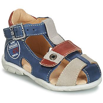 Παπούτσια Αγόρι Σανδάλια / Πέδιλα GBB SULLIVAN Μπλέ / Beige / Brown