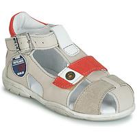Παπούτσια Αγόρι Σανδάλια / Πέδιλα GBB SULLIVAN Beige / Red