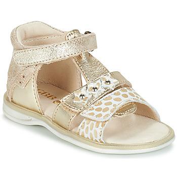 Παπούτσια Κορίτσι Σανδάλια / Πέδιλα GBB SYLVIE Gold