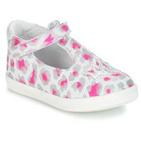 Παπούτσια Κορίτσι Μπαλαρίνες GBB SABRINA Grey / Ροζ / Άσπρο