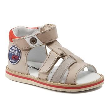 Παπούτσια Αγόρι Σανδάλια / Πέδιλα GBB STEFAN Vtc / Μπεζ-κόκκινο / Nitro