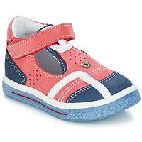Παπούτσια Κορίτσι Μπαλαρίνες GBB SALVADORE Red / Μπλέ