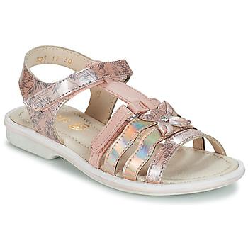 Παπούτσια Κορίτσι Σανδάλια / Πέδιλα GBB SCARLET Vtv / ΡΟΖ-ΜΕ prints / Dpf / Nicla