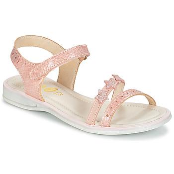 Παπούτσια Κορίτσι Σανδάλια / Πέδιλα GBB SWAN Vte / Ροζ / Dpf / Lola