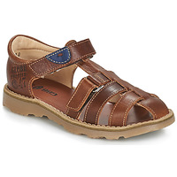 Παπούτσια Αγόρι Σανδάλια / Πέδιλα GBB PATERNE Brown