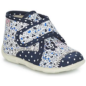 Παπούτσια Κορίτσι Παντόφλες GBB PASCALINE Μπλέ / Άσπρο