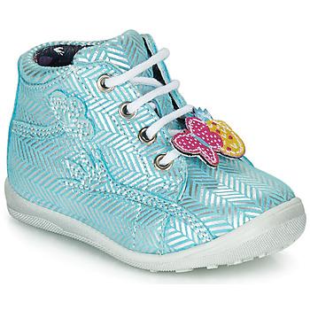 Παπούτσια Κορίτσι Μπότες Catimini SALAMANDRE Vte / ΓΑΛΑΖΙΟ-ΑΣΗΜΙ / Dpf / Gluck