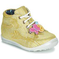 Παπούτσια Κορίτσι Ψηλά Sneakers Catimini SALAMANDRE Yellow