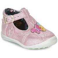 Παπούτσια Κορίτσι Μπότες Catimini SOLEIL Vte / ΡΟΖ-ΑΣΗΜΙ / Dpf / Gluck