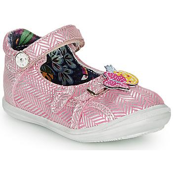 Παπούτσια Κορίτσι Μπαλαρίνες Catimini SITELLE Vte / ΡΟΖ-ΑΣΗΜΙ / Dpf / 2851