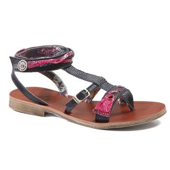 Παπούτσια Κορίτσι Σανδάλια / Πέδιλα Catimini SABRALIA Vte / ΜΠΛΕ-ΦΟΥΞΙΑ / Dpf / Coca