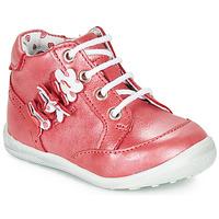 Παπούτσια Κορίτσι Μπότες Catimini SOLDANELLE Vte / Red / Nacre / Dpf / Gluck
