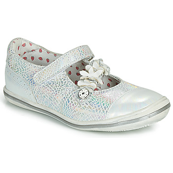 Παπούτσια Κορίτσι Μπαλαρίνες Catimini STROPHAIRE Silver
