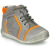 Παπούτσια Αγόρι Μπότες Catimini SEREVAL Nus /  γκρι-πορτοκαλί / Fluo / Dpf / Kimbo