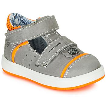 Παπούτσια Αγόρι Σανδάλια / Πέδιλα Catimini SAUTERIAU Grey / Orange