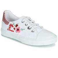 Παπούτσια Κορίτσι Χαμηλά Sneakers Catimini SAXIFAGE Άσπρο