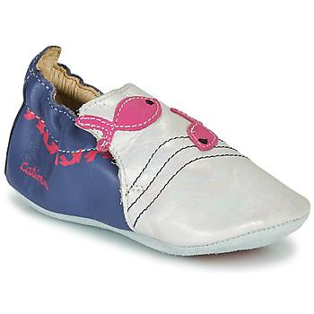 Παπούτσια Κορίτσι Παντόφλες Catimini SIRENE Vte /  marine-άσπρο / Dpf / Souple