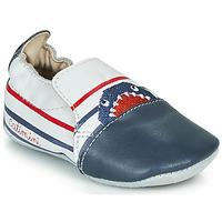 Παπούτσια Αγόρι Παντόφλες Catimini SIMOCYBE Vte / Ασπρο-marine / Dpf / Souple
