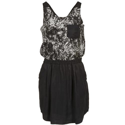 Υφασμάτινα Γυναίκα Κοντά Φορέματα School Rag ROXANA Black