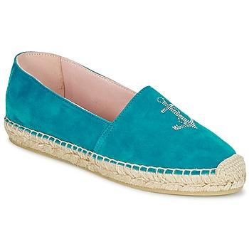 Παπούτσια Γυναίκα Εσπαντρίγια Pretty Ballerinas ANGELIS Turquoise