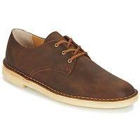 Παπούτσια Άνδρας Derby Clarks DESERT CROSBY Brown
