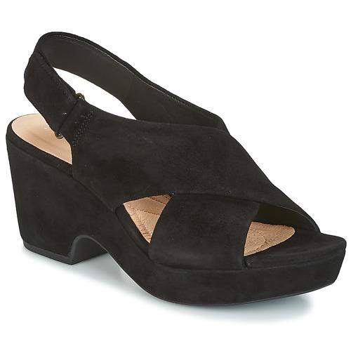 Παπούτσια Γυναίκα Σανδάλια / Πέδιλα Clarks MARITSA LARA Black
