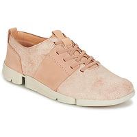Παπούτσια Γυναίκα Χαμηλά Sneakers Clarks TRI CAITLIN Ροζ