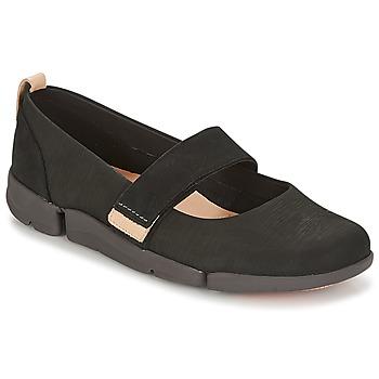 Παπούτσια Γυναίκα Μπαλαρίνες Clarks TRI CARRIE Black