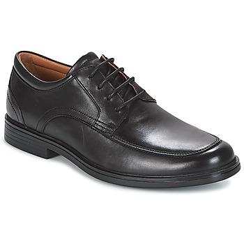 Παπούτσια Άνδρας Derby Clarks UN ALDRIC PARK Black