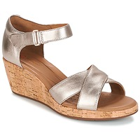 Παπούτσια Γυναίκα Σανδάλια / Πέδιλα Clarks UN PLAZA CROSS Gold