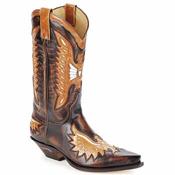 Παπούτσια Άνδρας Μπότες για την πόλη Sendra boots CHELY Brown