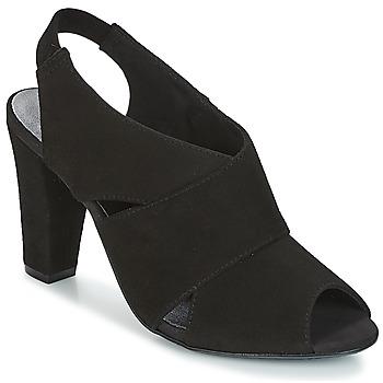 Παπούτσια Γυναίκα Σανδάλια / Πέδιλα KG by Kurt Geiger FOOT-COVERAGE-FLEX-SANDAL-BLACK Black