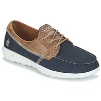 Παπούτσια Γυναίκα Boat shoes Skechers GO WALK LITE Marine
