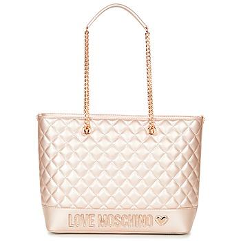 Τσάντες Γυναίκα Cabas / Sac shopping Love Moschino JC4003PP15 Ροζ / Gold