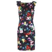 Υφασμάτινα Γυναίκα Κοντά Φορέματα Love Moschino WVG3100 Black / Multicolour