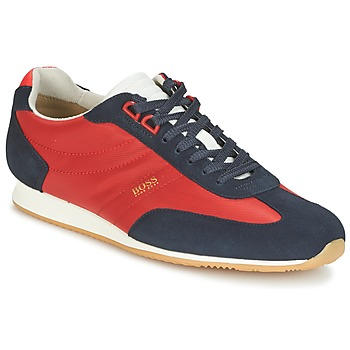 Παπούτσια Άνδρας Χαμηλά Sneakers Hugo Boss Orange ORLANDO LOW PROFILE Red / Marine