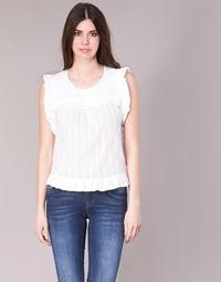 Υφασμάτινα Γυναίκα Μπλούζες See U Soon 8111036 Άσπρο