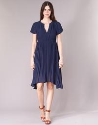 Υφασμάτινα Γυναίκα Κοντά Φορέματα See U Soon 8121119 Marine