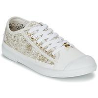 Παπούτσια Γυναίκα Χαμηλά Sneakers Le Temps des Cerises BASIC 02 Gold