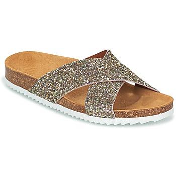 Παπούτσια Γυναίκα Τσόκαρα Le Temps des Cerises FALONE Glitter