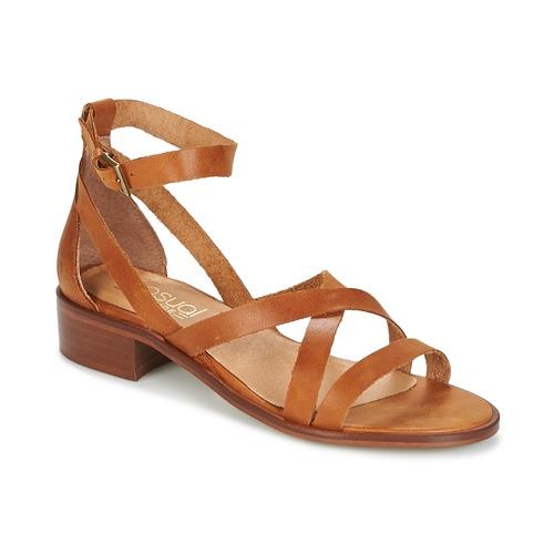 Παπούτσια Γυναίκα Σανδάλια / Πέδιλα Casual Attitude COUTIL Brown