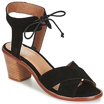 Παπούτσια Γυναίκα Σανδάλια / Πέδιλα Casual Attitude ITELO Black
