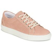Παπούτσια Γυναίκα Χαμηλά Sneakers Casual Attitude IPINIA Ροζ