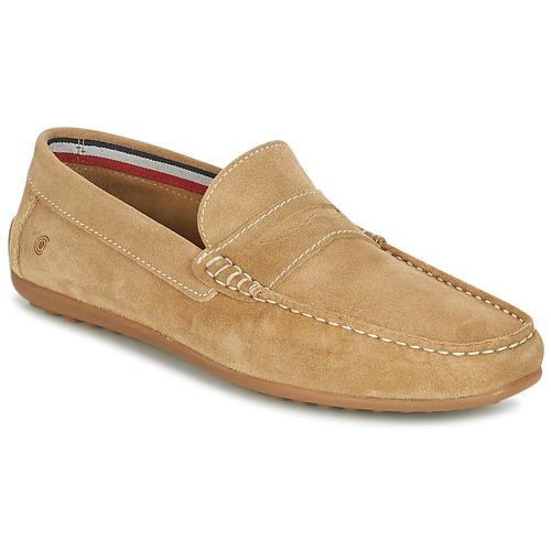 Παπούτσια Άνδρας Μοκασσίνια Casual Attitude IMOPO Beige