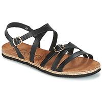 Παπούτσια Γυναίκα Σανδάλια / Πέδιλα Casual Attitude ILMEM Black